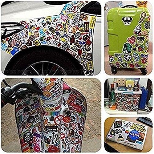 Car Stickers [104 Pcs] , SHENGDELONG Laptop Stickers Waterproof Vinyl Stickers