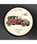 1926 LINCOLN Jell-O Picture Wheel #95 - $5.00