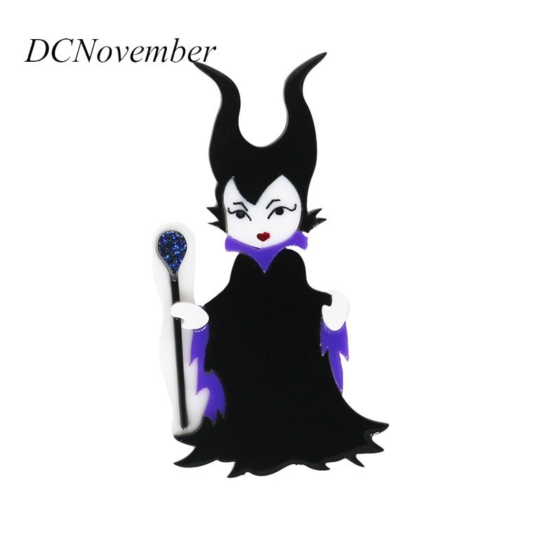 Primary image for Maleficent Brooch Pin Actor Angelina jolie Movie Maleficent