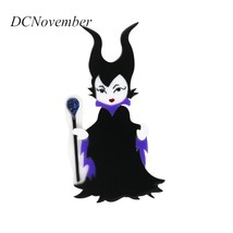 Maleficent Brooch Pin Actor Angelina jolie Movie Maleficent - $25.06