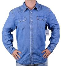 Levi's Men's Classic Long Sleeve Denim Button Up Casual Dress Shirt 381006Cc image 3