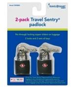 Travel Smart Luggage Padlock  - Black - $7.99