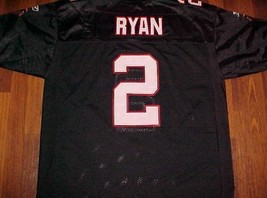 Atlanta Falcons Matt Ryan 2 NFL NFC South Reebok On Field Black White Je... - $69.29