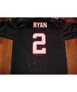 Atlanta Falcons Matt Ryan 2 NFL NFC South Reebok On Field Black White Je... - $69.29
