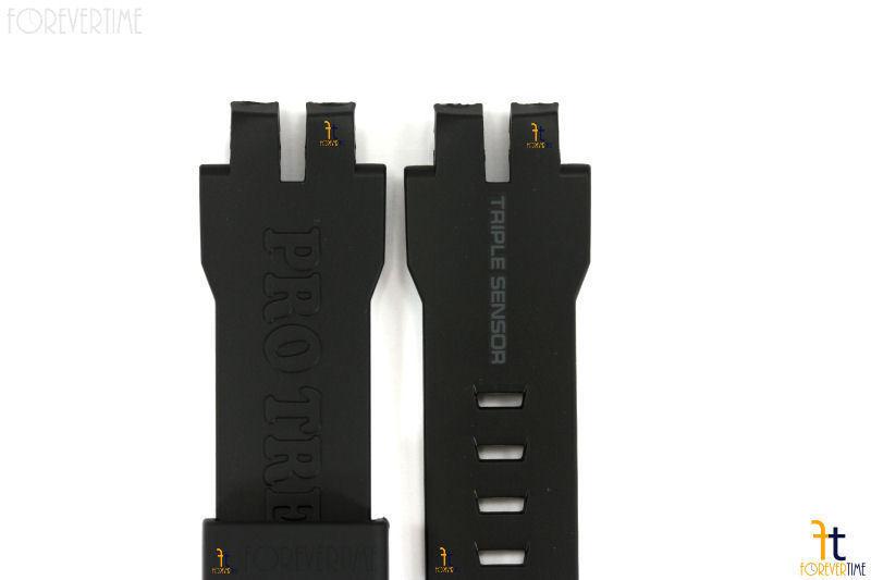 CASIO Pathfinder Protrek PRW-6000 Original Black Rubber Watch Band Strap image 4
