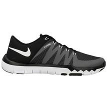 Nike Free Trainer 5.0 V6 Training Shoe Black/Dark Grey/Volt/White Mens S... - $77.95