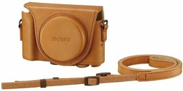 Sony digital camera case cover case light brown LCJ-HWA TIC w/Tracking# New - $42.38