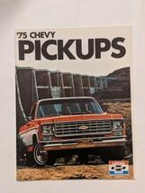 1975 Chevrolet Pickup Truck Original Sales Brochure Catalog Silverado Cheyenne - $10.39