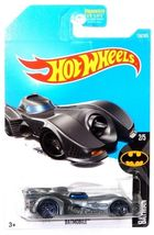 Hot Wheels 2017 Batman Batmobile (1989 Movie) 134/365, Gray - $2.99