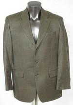 Mens Ralph Lauren Green 3 Button Dillards Blazer Jacket Silk Wool Size 4... - $23.75