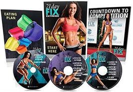 Beachbody 21Day Fix Extreme Workout,On 3 DVDs Fitness Strengthen The Who... - $60.98