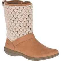 Merrell Women's Encore Kassie Tall Wool Fashion Boot, Natural tan, 8 M US - $135.25