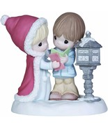 Precious Moments Tidings of Comfort and Joy Figure Christmas 131012 w/ B... - £14.71 GBP