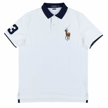Polo Ralph Lauren Mens Classic Fit Big Colored Pony Polo Shirt White XL XXL - $79.99