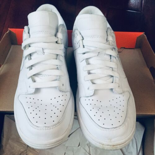 new product 82a59 4ef3a Nike WMNS Dunk Low White Women SZ 9.5 = Men and 50 similar items