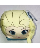 Cubd Collectibles Soft Plush Stuffed Cube Disney Frozen Elsa W Tags - $10.72