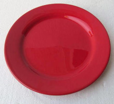 WAECHTERSBACH Collectible Red Color Glazed Finish Siet Side Salad Desert... - $15.99