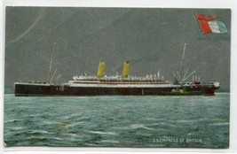 Empress of Britain Steamer Ocean Liner postcard - $7.43