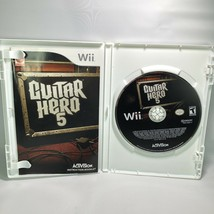 Guitar Hero 5 (Nintendo Wii, 2009) Complete CIB Tested Working Near Mint - $24.70