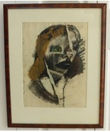 Listed Artist American Artist Kim Goldfarb Signed Mixed Media Painting - $4,500.00