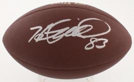 Heath Miller Signed Full Size Wilson NFL Football TSE Signing Steelers V... - $121.19