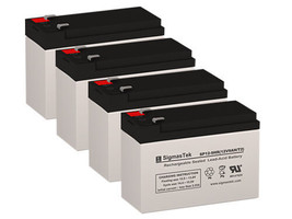 APC SMX750 UPS Battery Set (Replacement) By SigmasTek - 12 Volts 9 AH - $84.11
