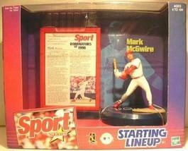 Mark McGwire St. Louis Cardinals Sport Stars Starting Lineup Figure NIB ... - $17.07