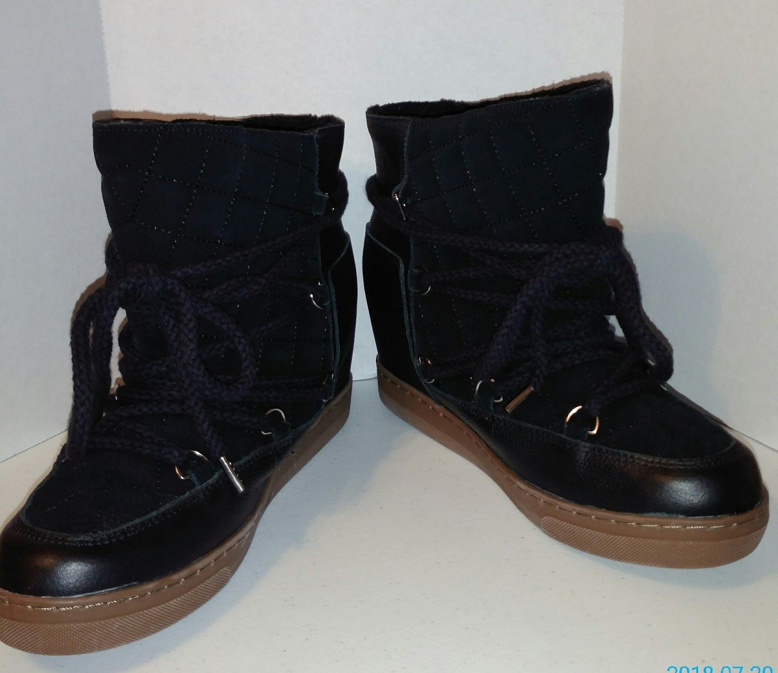 b9847ffb5308 Steve Madden Womens Black Suede Winter Lace and 50 similar items. 57
