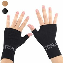 TOFLY Compression Arthritis Gloves, 1 Pair, Thumb & Wrist Support for Me... - $23.27