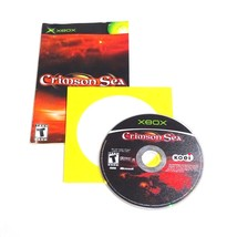 Crimson Sea (Microsoft Xbox, 2002)  Disc and Manual Only  - $12.30
