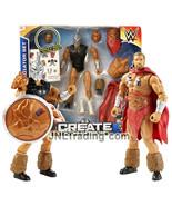 Year 2015 Wrestling Create A WWE Superstar 7 Inch Figure GLADIATOR SET T... - $39.99