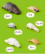 Takara Tomy Panda's ana Zoo Zoo Zoo Sleeping Animal Collection P2 Set 6p... - $22.93