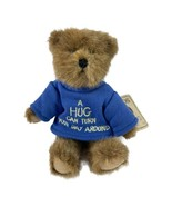 Boyd's Bears Hug-A-Me 'A Hug Can Turn the Day Around' Bear in Blue Top NWT - $9.50