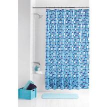 Mainstays 13pc Peva Mosaic Shower Curtain Set - $18.45