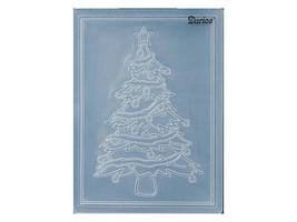 Darice Christmas Tree Embossing Folder image 2