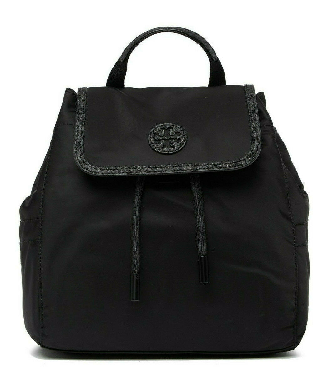 Primary image for Tory Burch Small Scout Nylon Backpack ~NWT~ Black