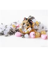 Exotic Shorthair Calico Cat Necklace, Sweet Lolita, Cat Lovers, Harajuku... - $38.00