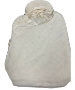 Cocoon Baby Bundle Silk Swaddle, One Size, Soft Pink Hearts, NWT $189 - $71.24