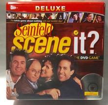 Scene It Seinfeld Deluxe Dvd Board Game In Tin Package - Complete ~ Yada Yada! - $12.94