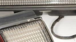 98-99 Nissan Sentra B14 Tail Lights & Center Reflector Panel Carbon Fiber Look image 5