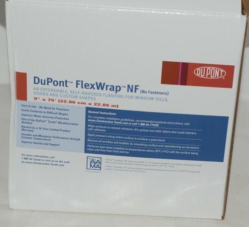 DuPont(R) Flexwrap NF 9 Inches by 75 Feet Self Adhered Flashing