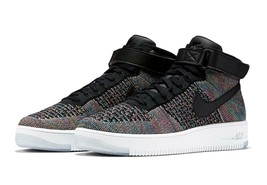 Nike Men's Air Force 1 AF1 Ultra Flyknit Mid Shoes 'Multicolor' NIB 8174... - $74.99