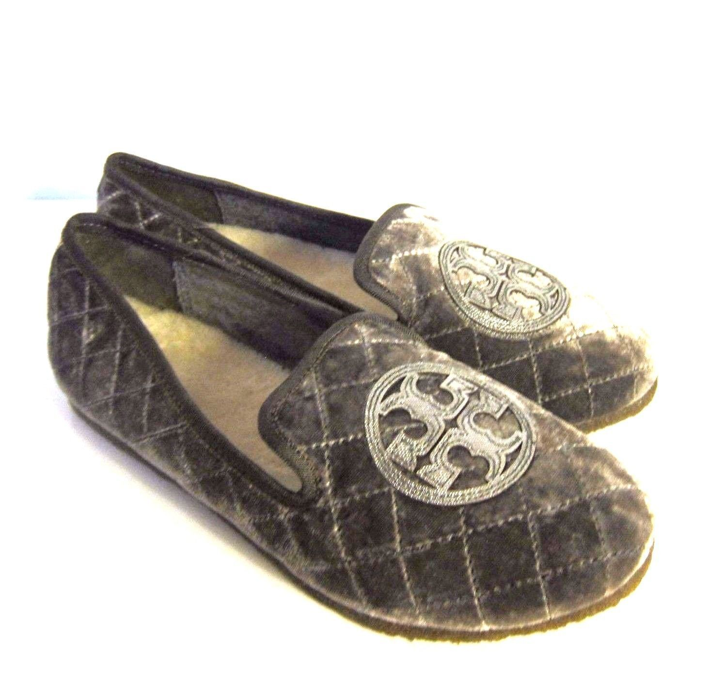 0b528681f892 C-1242970 New Tory Burch Gray Pewter Quilted and 50 similar items
