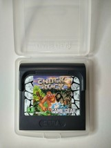 Vintage Video Game Chuck Rock Sega Game Gear 1992 Cartridge and Case Untested - $10.89