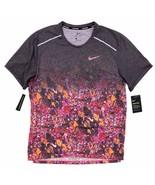 Nike Men's Breathe Rise 365 Wild Running Shirt Size L Floral Print BQ832... - $49.99