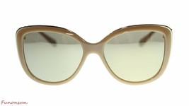 BVLGARI Women's Sunglasses BV6094 278/5A Cat Eye Beige/Brown Mirror Lens... - $257.05