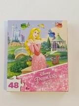 """DISNEY PRINCESS Puzzle CINDERELLA 48 PIECES NEW 9.1"""" X 10.3"""" - $6.89"""