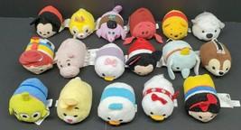 """Disney Tsum Tsum Lot 15 3.5"""" Mini Plush Alien Jessie Sebastian Snow Whit... - $38.69"""