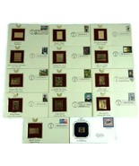 Postal Commemorative 22K Replica GOLD First Day Issue Stamp Inverted Jen... - $20.54