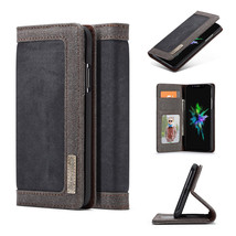 Fit For iPhone X 10 Magnetic Flip Wallet Card Holder Phone Shell Cover C... - $7.36